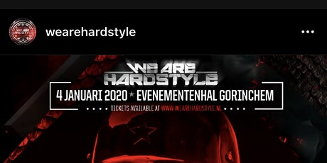 We are hardstyle tickets