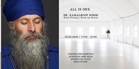 All Is One with Dr. Kamalroop Singh tickets