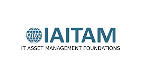 IAITAM IT Asset Management Foundations 2 Days Virtual Training in Antwerp tickets