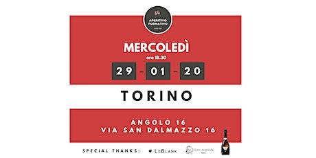 Aperitivo Formativo  Torino - Gennaio 2020 biglietti