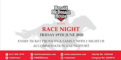 Ronald McDonald House Bristol - Race Night tickets