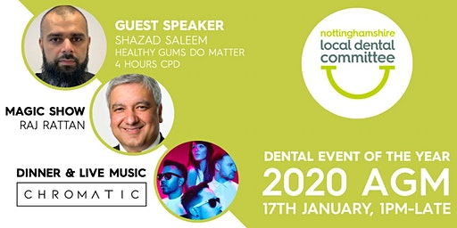 Dental Event Of The Year - 2020 AGM