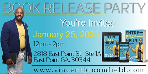 Vincent Broomfield Book Release