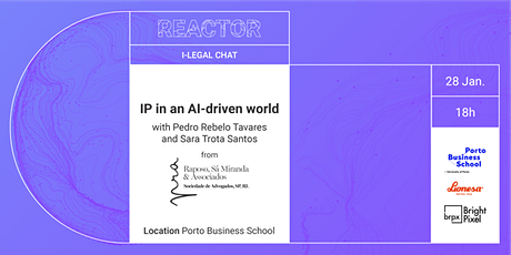 i-Legal Chat: IP in an AI-driven world tickets