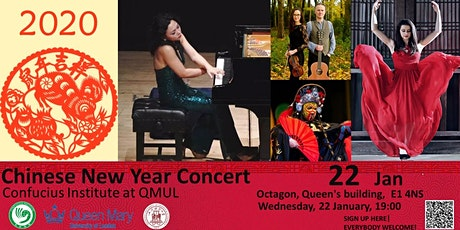 QMUL Confucius Institute  2020 Chinese New Year Concert tickets