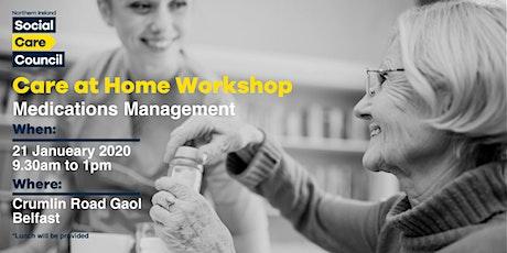 Medication Management Workshop for Social Care Staff tickets