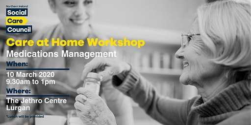 Medication Management Workshop for Social Care Staff