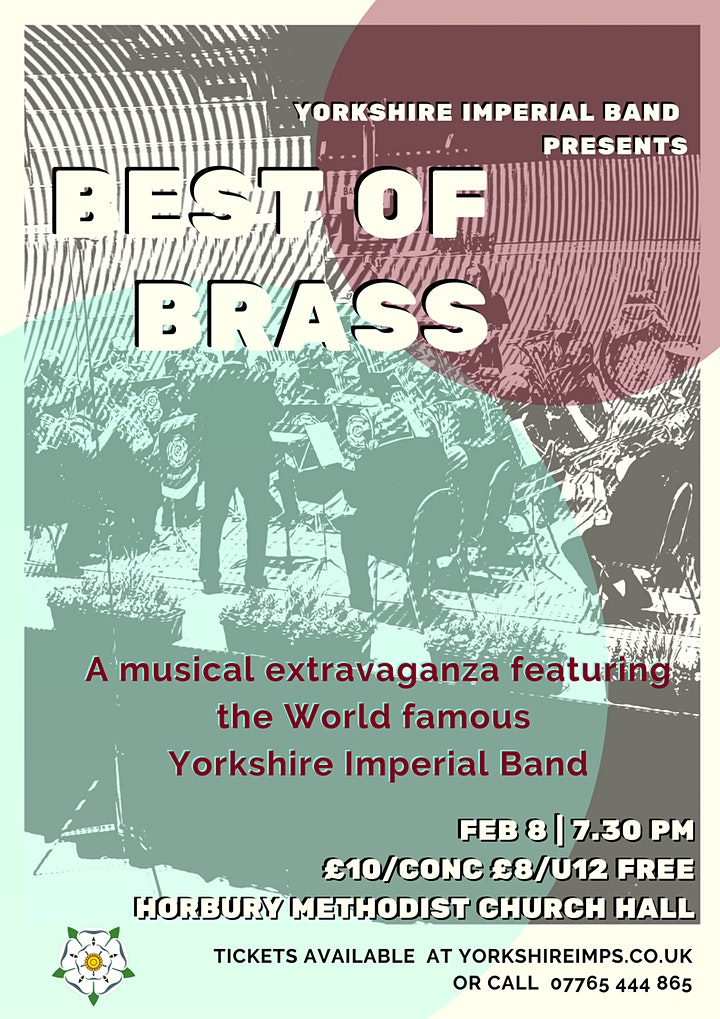 'Best of Brass' featuring the Yorkshire Imperial Band image