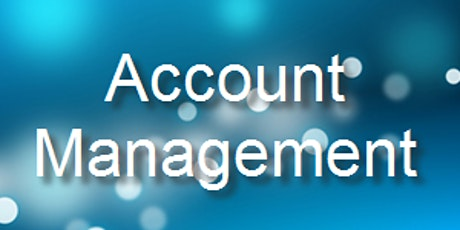 Sales Training - Account Management tickets