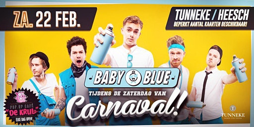 Baby Blue Zaterdag bij Carnaval