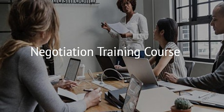 Sales Training - Negotiation Skills tickets
