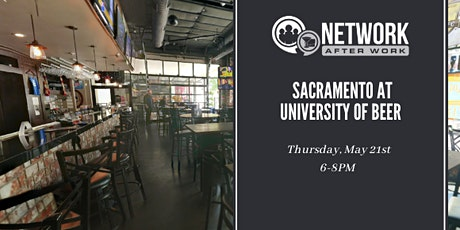 Network After Work Sacramento at University of Beer tickets