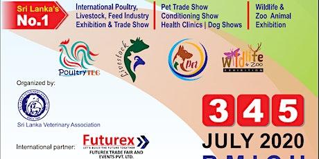 Sri Lanka VET Expo 2020 tickets