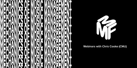 Mechanics of Music Management Webinars all 5 Sessions (Discounted Price) tickets