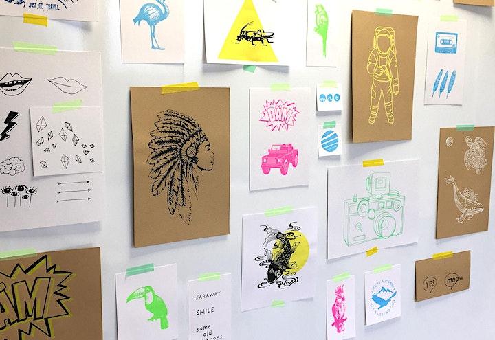 Siebdruck Workshop: Bild