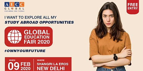Global Education Fair - New Delhi tickets