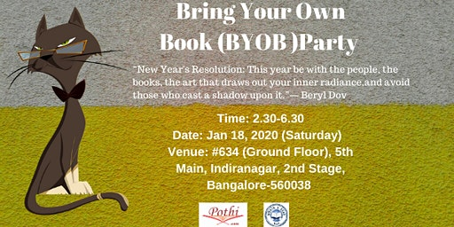 Bring Your Own Book (BYOB) Party