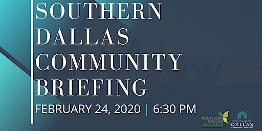 Southern Dallas Community Briefing