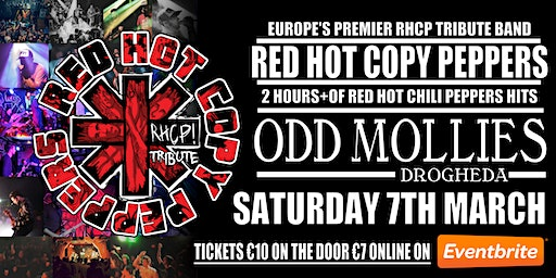 Red Hot Copy Peppers Live At Odd Mollies Drogheda