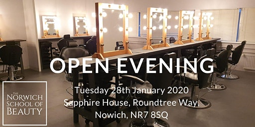 The Norwich School of Beauty Open Evening