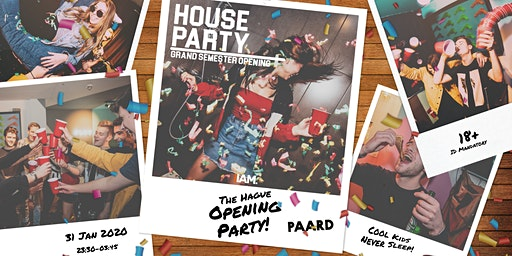 House Party - Grand Semester Opening