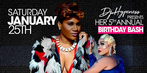 It's the 5th annual Birthday Celebration for Dj Hypeness