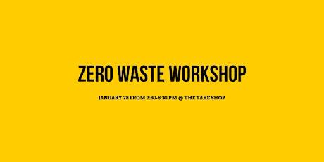 Zero Waste Workshop tickets