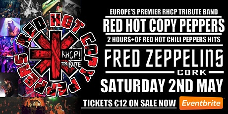 Red Hot Copy Peppers Live At Fred Zeppelins Cork tickets
