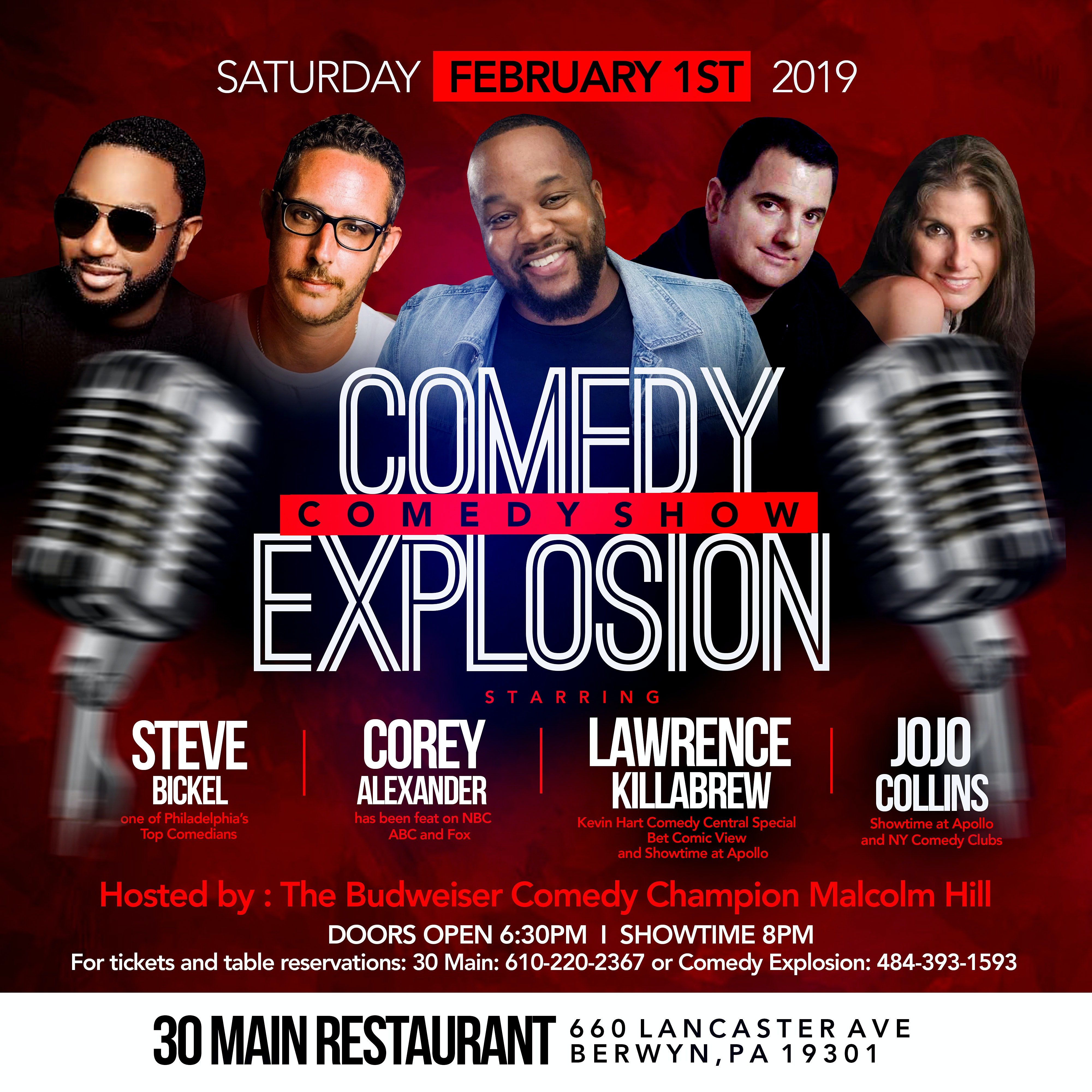 Comedy Explosion at 30 Main
