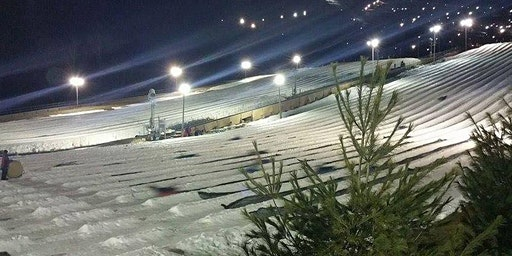 Late Night Snow Tubing with Transportation