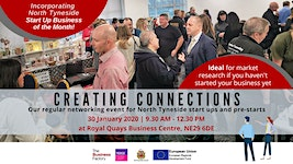 CREATING CONNECTIONS | Thursday 30th January 2020 at...
