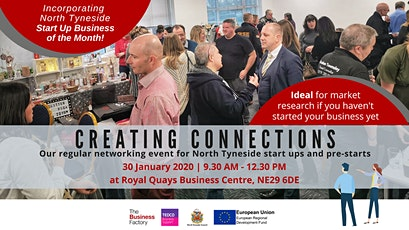 CREATING CONNECTIONS | Thursday 30th January 2020 at 9.30am tickets
