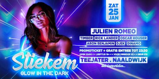 STIEKEM 'Glow In The Dark'    Teejater . Naaldwijk