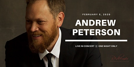 Andrew Peterson - LIVE IN CONCERT | McKinney, TX tickets