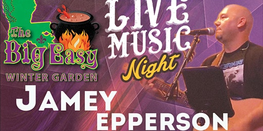 Jamey Epperson Performing Live on The Big Easy Stage