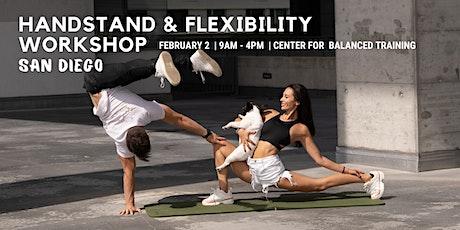 San Diego Handstand & Flexibility Workshop tickets
