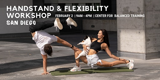 San Diego Handstand & Flexibility Workshop