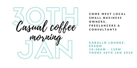 Casual Coffee Morning in Surrey for Women in Business tickets