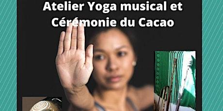 Atelier Yoga Musical suivi d'une Cérémonie : une expérience de Hatha Yoga billets