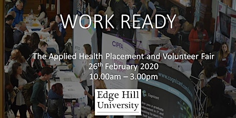 Work Ready: Applied Health Volunteer and Placement Fair tickets
