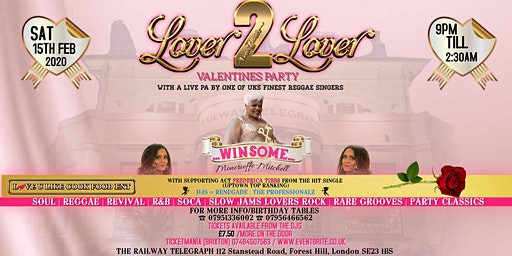 LOVER2LOVER VALENTINES PARTY