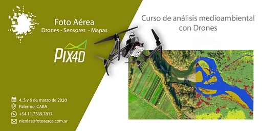 Curso de Drones y Medio Ambiente