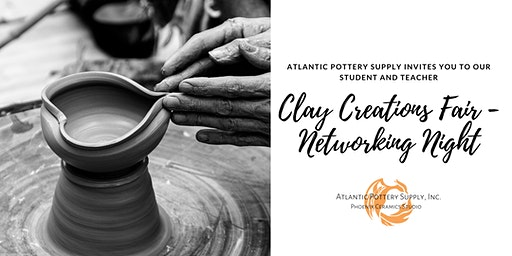 Clay Creations Fair - Networking Night at Atlantic Pottery Supply