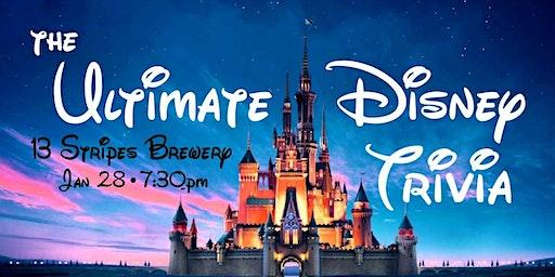 The Ultimate Disney Trivia Night