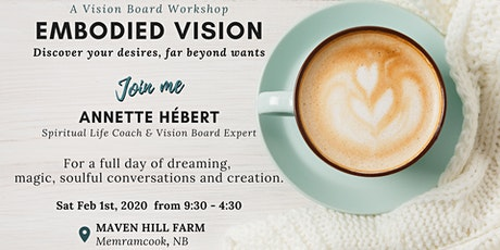 EMBODIED VISION tickets