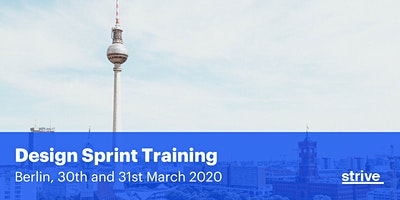 Strive Design Sprint Training Berlin (2 days, Engl