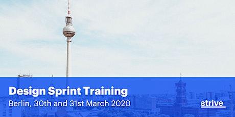 Strive Design Sprint Training Berlin (2 days, English) tickets