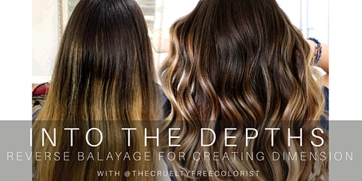 INTO THE DEPTHS- reverse balayage for dimension