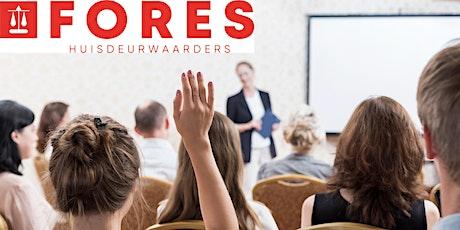GRATIS Seminar: Actualiteiten Beslag & Executierecht tickets