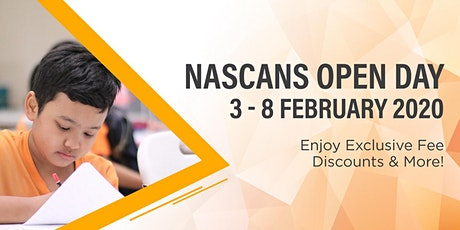 Nascans Open Day - Student Care Centre tickets